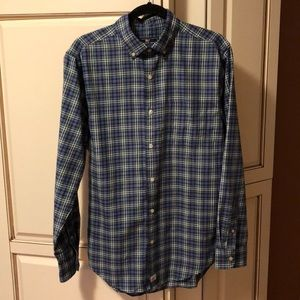 VINEYARD VINES Green Plaid Flannel Shirt sz S